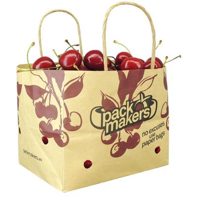 Fabricante bolsas de papel fruta