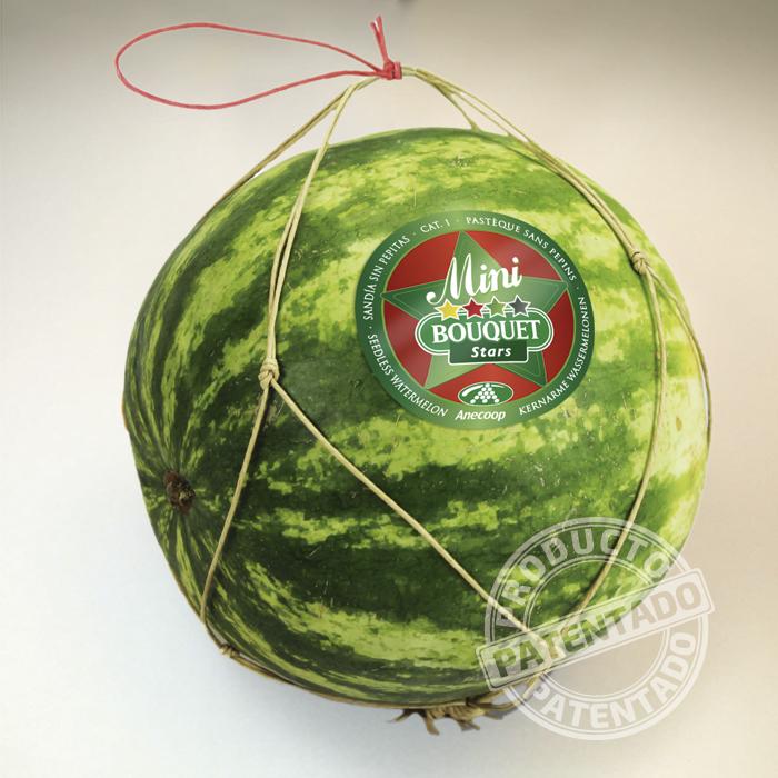 Malla fruta voluminosa