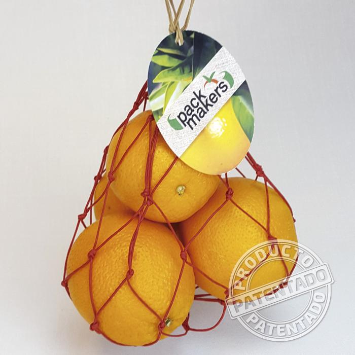 Malla papel fruta
